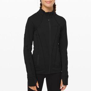Ivivva Lululemon Girls Black Zip Up Jacket Size 14